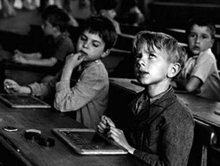Robert Doisneau - L'information scolaire - 1956
